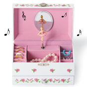 Ballerina Wind Up Musical Jewelry Box - 97685