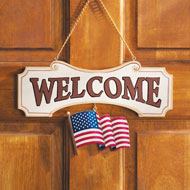 Seasonal Welcome Sign Decoration - 10 Piece Set - 97696