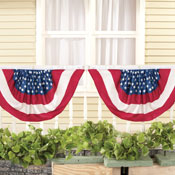 Stars and Stripes Flag Bunting - Set of 2 - 98184