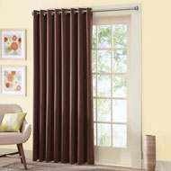 Gramercy Patio Door Grommet Top Curtain Panel - 98197