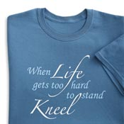 When Life Gets Too Hard Cotton Tee - 98789