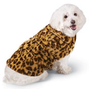 Leopard Faux Fur Dog Coat - 98931