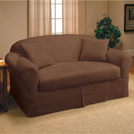 Stretch Suede Slipcover - A1952