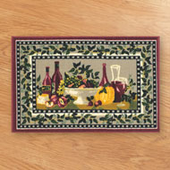 Tuscany Wine Kitchen Floor Mat - A1969