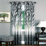 Safari Animal Print Curtain Panel - A2020