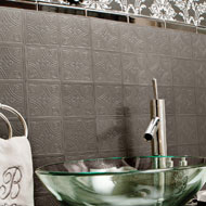 Metallo Pewter Backsplash Wall Tiles - A2072