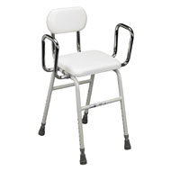 Adjustable Stool with Angled Seat - A2083