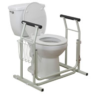 Toilet Safety Rail with Arm Rests - A2093