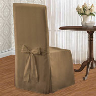 Elegant Metro Full Dining Chair Cover - A2103