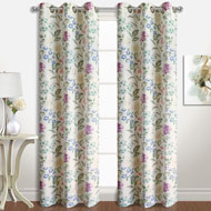 Christine Floral Curtain Panel Pairs - A2105