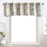 Christine Floral Window Valance - A2106