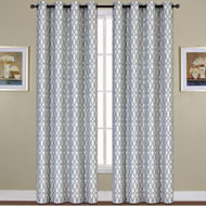 Oakland Print Curtain Panel - A2114