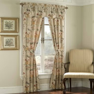 Gemini Floral Curtain Set - 5pc - A2115