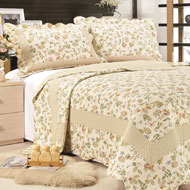 Reversible Brook Floral Quilt Set - A2117