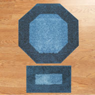 Frisse Two Tone Accent Rugs - Set of 2 - A2126
