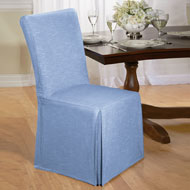 Chambray Full Dining Chair Cover - A2132