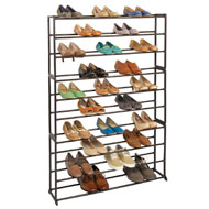 Ten-Level Shoe Holder Rack