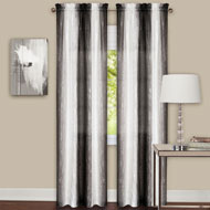 Ombre Sheer Curtain Panel Pair