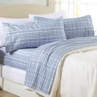Acadia Plaid Microfiber Sheet Set