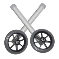 Adjustable Universal Walker Rubber Wheels - A2265