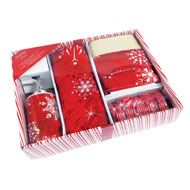 Holiday Snow Complete Bathroom Gift Set - 16pc - A2278